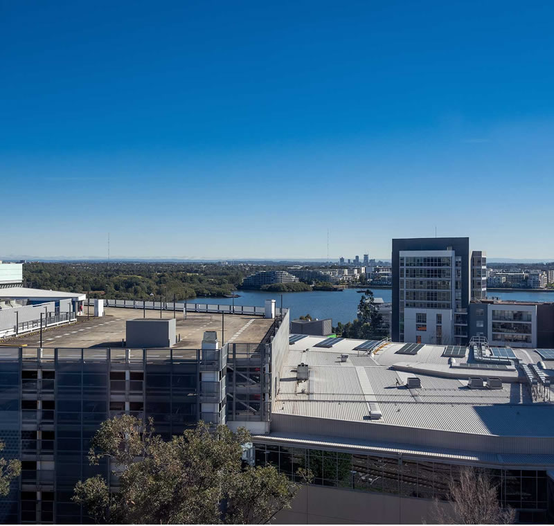 Parramatta Views from Building A